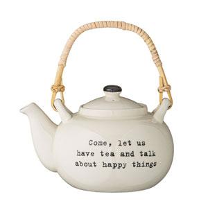Josephine Ceramic Teapot