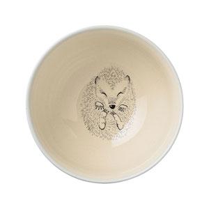 Adelynn Hedgehog Sky Blue Ceramic Bowl