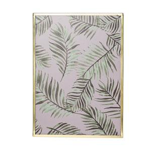 Botanical Print Framed Glass