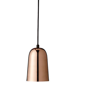 Copper Plated Brass Pendant Lamp