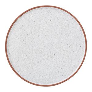 Evelyse Round Terracotta Plate