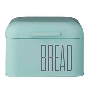 Mint Metal Bread Bin