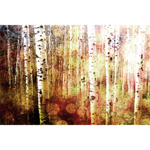Aspen 45 x 30 In. Painting Print on Wrapped Canvas