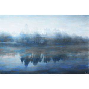 Lake Marmont 60 x 40 In. Painting Print on Wrapped Canvas