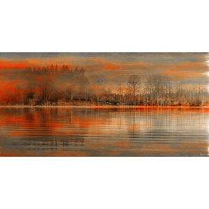 Serenity 45 x 22.5 In. Painting Print on Wrapped Canvas