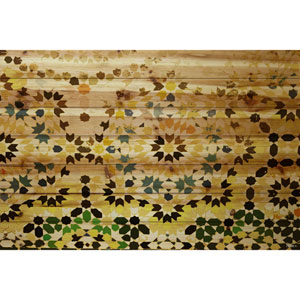 Tangier 60 x 40 In. Painting Print on Natural Pine Wood
