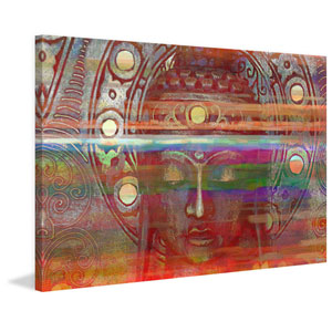 Kalpi 45 x 30 In. Painting Print on Wrapped Canvas