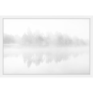Icy Reflections 36 x 24 In. Framed Painting Print