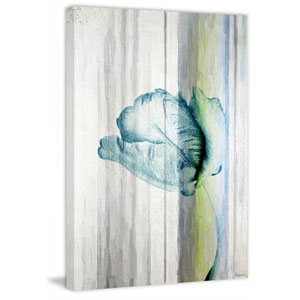 Water Flower 30 x 45 In. Painting Print on Wrapped Canvas
