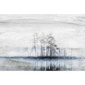 Tree Island 36 x 24 In. Painting Print on Wrapped Canvas