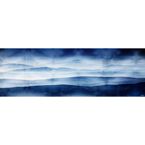 Blue Mountains 60 x 20 In. Painting Print on Wrapped Canvas