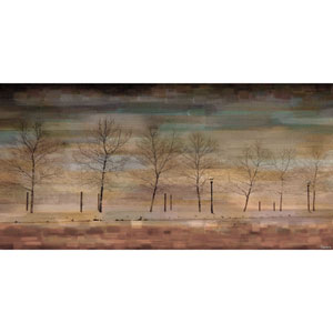 The Woods 45 x 22.5 In. Painting Print on Wrapped Canvas