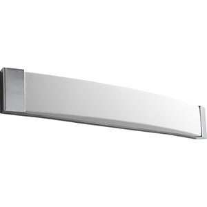 Apollo Polished Chrome 37-Inch Two-Light 120V/277V Bath Vanity