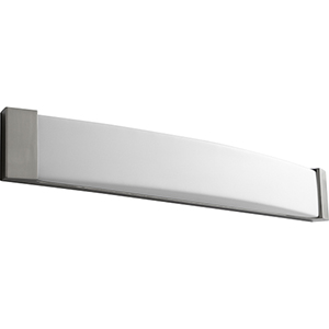 Apollo Satin Nickel 37-Inch Two-Light 120V/277V Bath Vanity