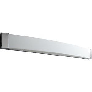 Apollo Polished Chrome 49-Inch Two-Light 120V/277V Bath Vanity