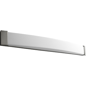 Apollo Satin Nickel 49-Inch Two-Light 120V/277V Bath Vanity