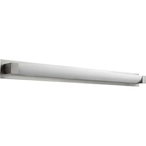 Balance Satin Nickel 50-Inch One-Light 120V/277V Bath Vanity (3-Inch Dia.)