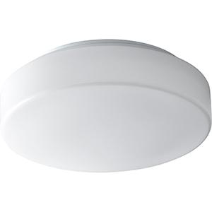 Rhythm White One-Light Flush Mount