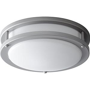 Oracle Grey One-Light Flush Mount