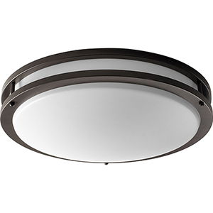 Oracle Old World Two-Light Flush Mount