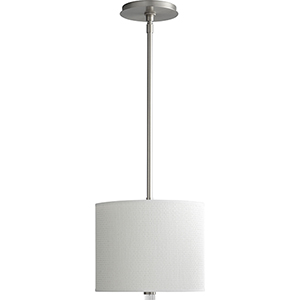 Echo Satin Nickel One-Light Pendant