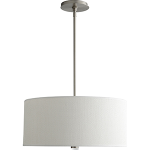 Echo Satin Nickel Three-Light Pendant