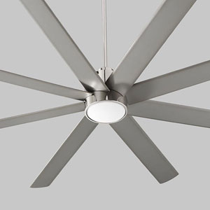Cosmo Polished Chrome 70-Inch Ceiling Fan