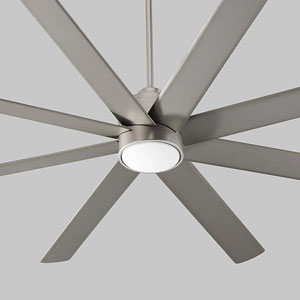 Cosmo Satin Nickel 70-Inch Ceiling Fan
