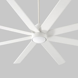 Cosmo White 70-Inch Ceiling Fan