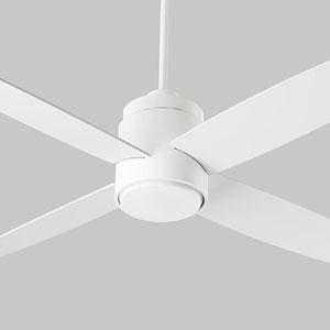 Oslo White 52-Inch Ceiling Fan