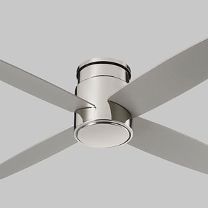 Oslo Hugger Polished Chrome 52-Inch Ceiling Fan