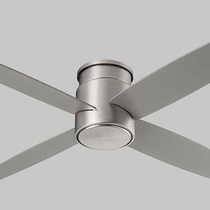 Oslo Hugger Satin Nickel 52-Inch Ceiling Fan