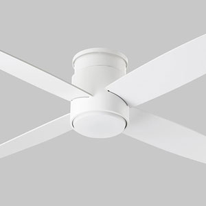 Oslo Hugger White 52-Inch Ceiling Fan