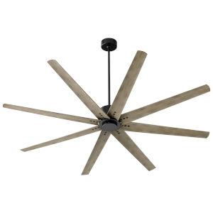 Fleet Black 72-Inch Ceiling Fan