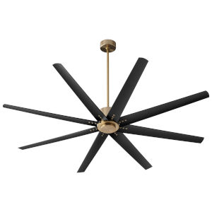 Fleet Aged Brass 72-Inch Ceiling Fan