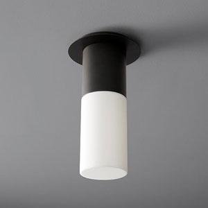 Pilar Black 5-Inch LED 120V Ceiling Mount