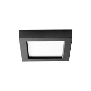 Altair Black Five-Inch LED Flush Mount