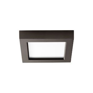 Altair Oiled Bronze Five-Inch LED Flush Mount