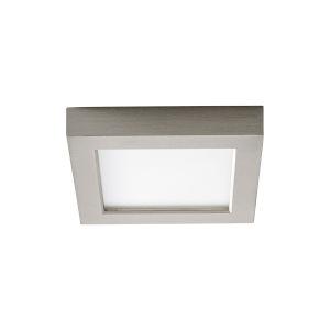Altair Satin Nickel Five-Inch LED Flush Mount