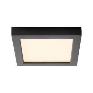 Altair Black Seven-Inch LED Flush Mount
