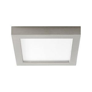 Altair Satin Nickel Seven-Inch LED Flush Mount