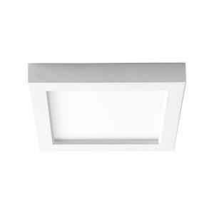 Altair White Seven-Inch LED Flush Mount