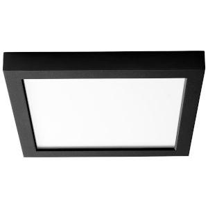 Altair Black Nine-Inch LED Flush Mount