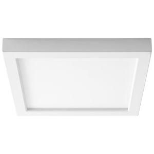 Altair White Nine-Inch LED Flush Mount