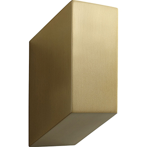 Uno Aged Brass One-Light LED Wall Sconce