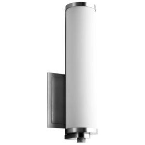 Tempus Polished Nickel LED Wall Sconce