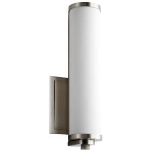 Tempus Satin Nickel LED Wall Sconce