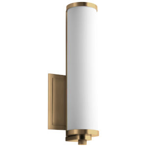 Tempus Aged Brass LED Wall Sconce