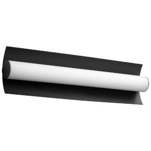 Wave Black 23-Inch Two-Light LED Vanity