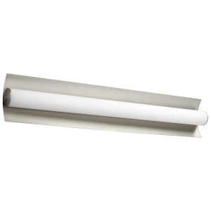 Wave Satin Nickel 34-Inch Two-Light LED Vanity